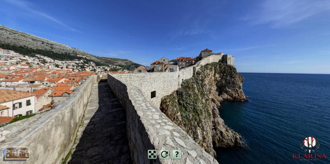Dubrovnik (restaurant Klarisa by day)